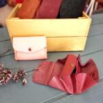 Taller de cuero para elaborar un bonito monedero de estilo origami
